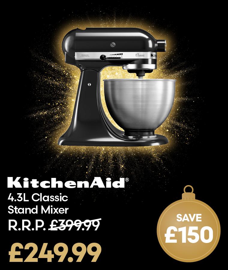 KitchenAid 4.3L Classic Stand Mixer Black Friday Deal