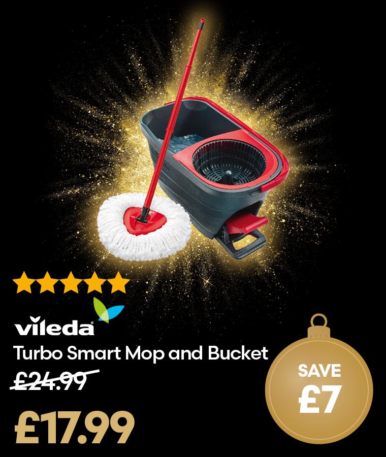 Vileda Turbo Smart Mop and Bucket Black Friday Deal