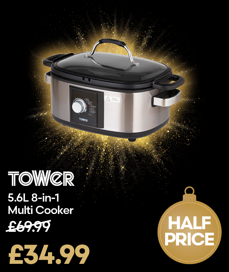 Tower T16017 5.6L 8-in-1 Multi Cooker Black Friday Deal