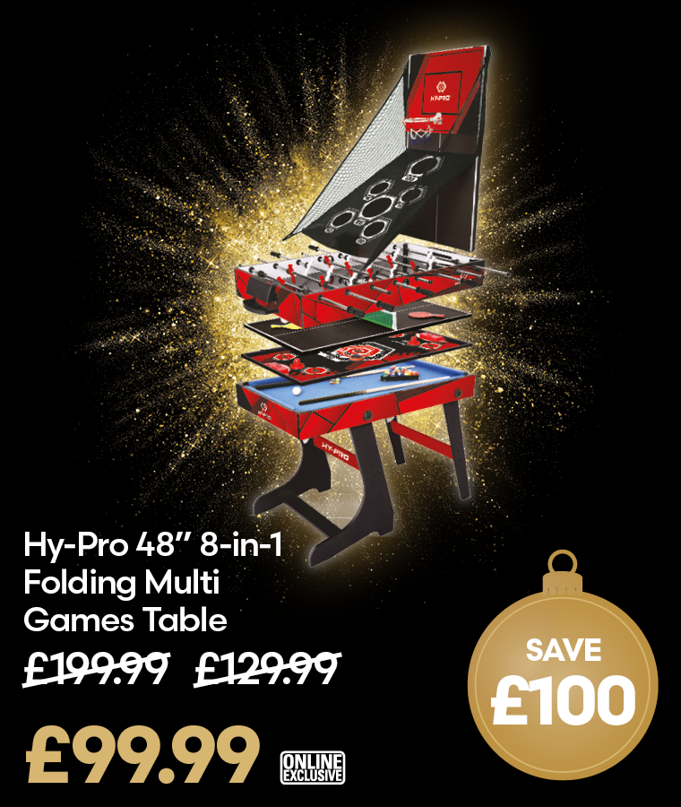 Hy-Pro 8-in-1 Folding Multi Games Table Black Friday Deal