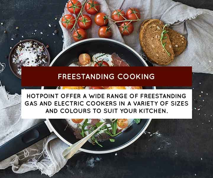 Hotpoint freestanding cooking