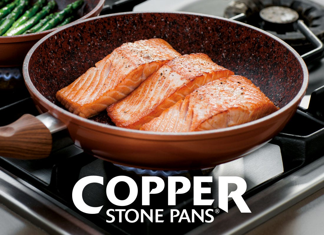 JML copper stone pan