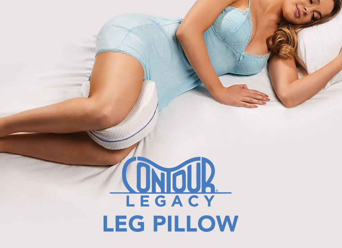 JML contour leg pillow