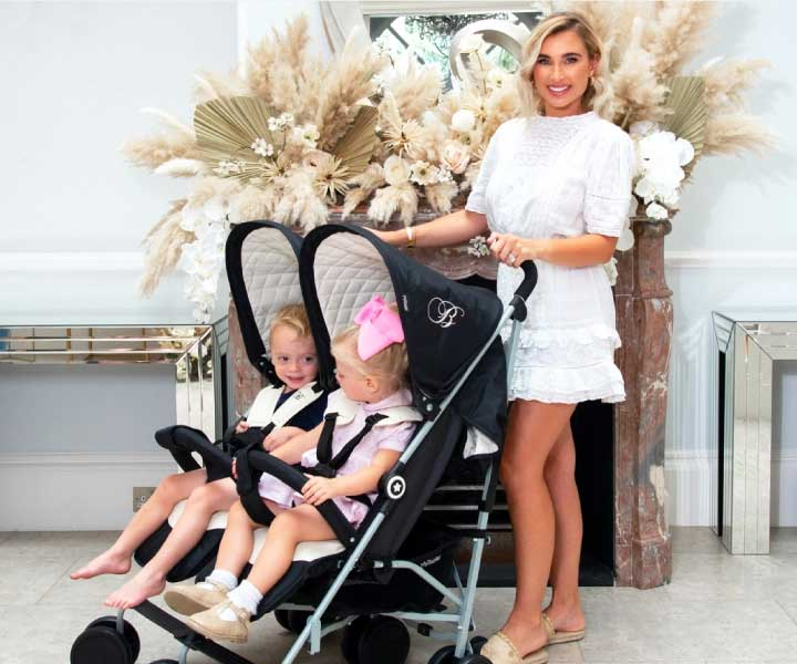 my babiie twin strollers