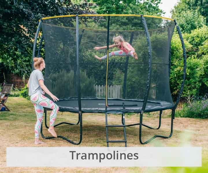 Plum trampolines