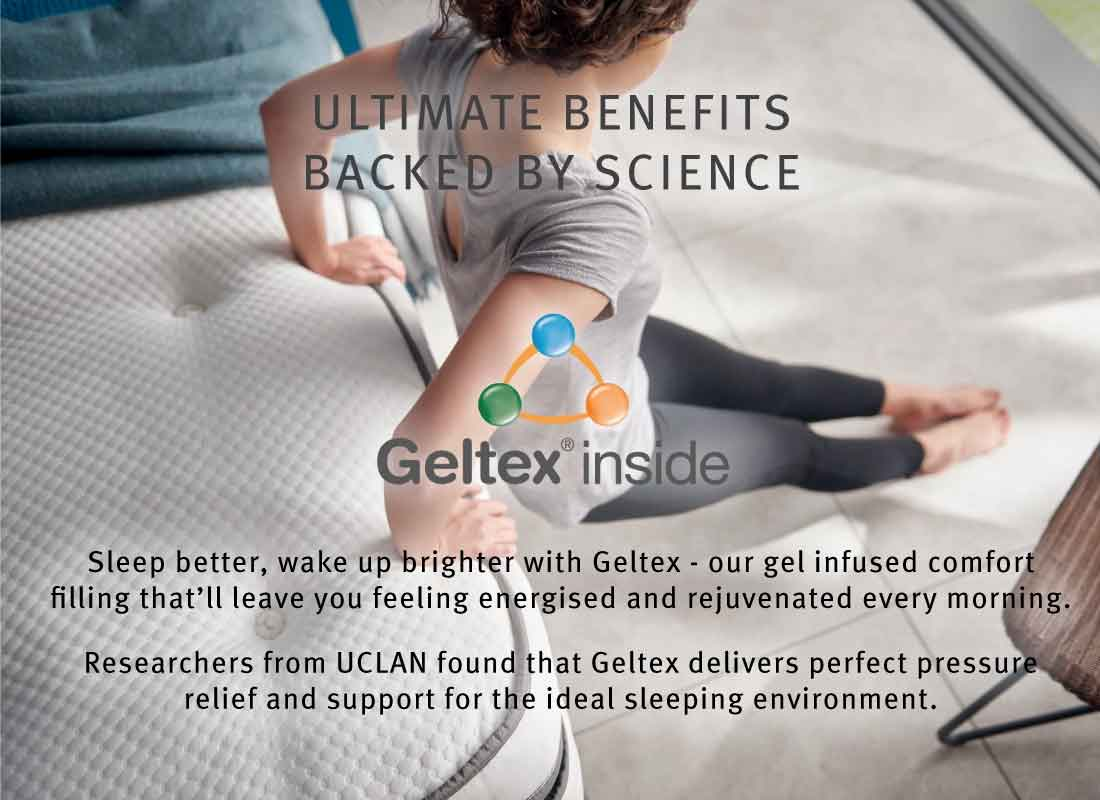 Silentnight Geltex mattress