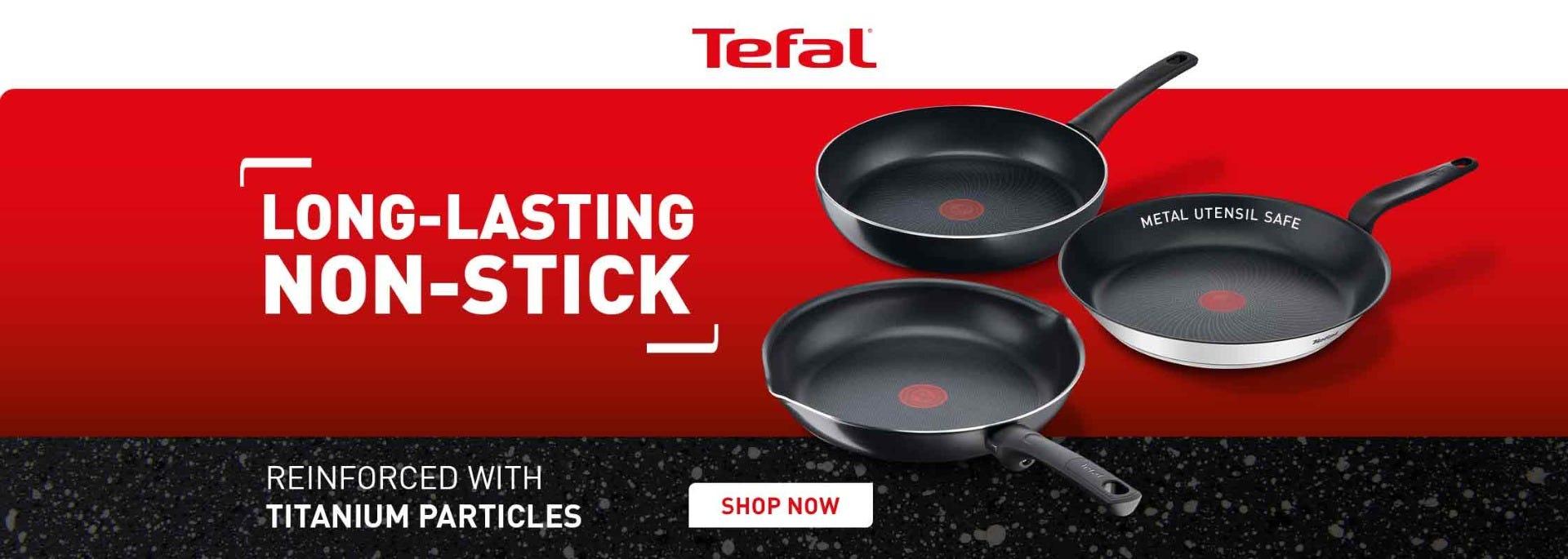 Tefal titanium excel pan