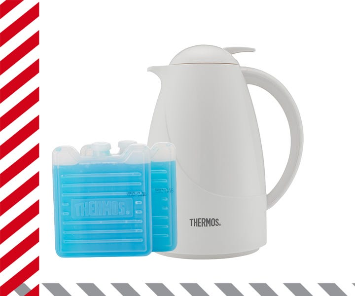 Thermos ice packs & carafe