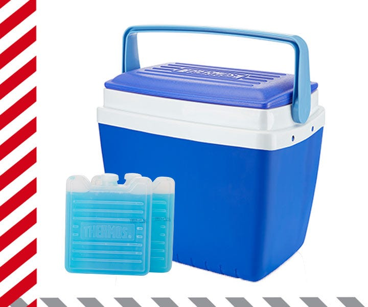Thermos cooler boxes & ice packs