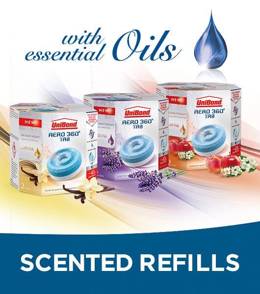 Unibond aero 360 scented refills