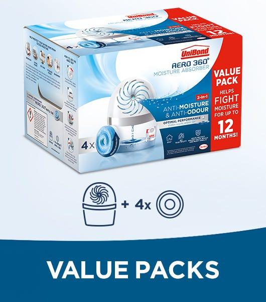 Unibond aero 360 value packs