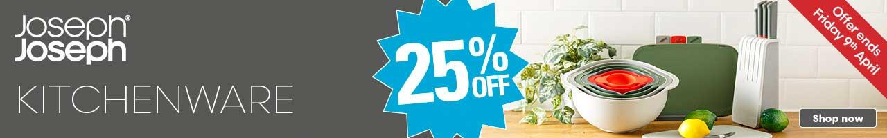 Get 25% Off Joseph Joseph