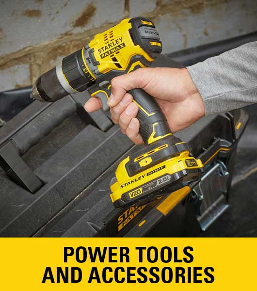 Stanley power tools & accessories