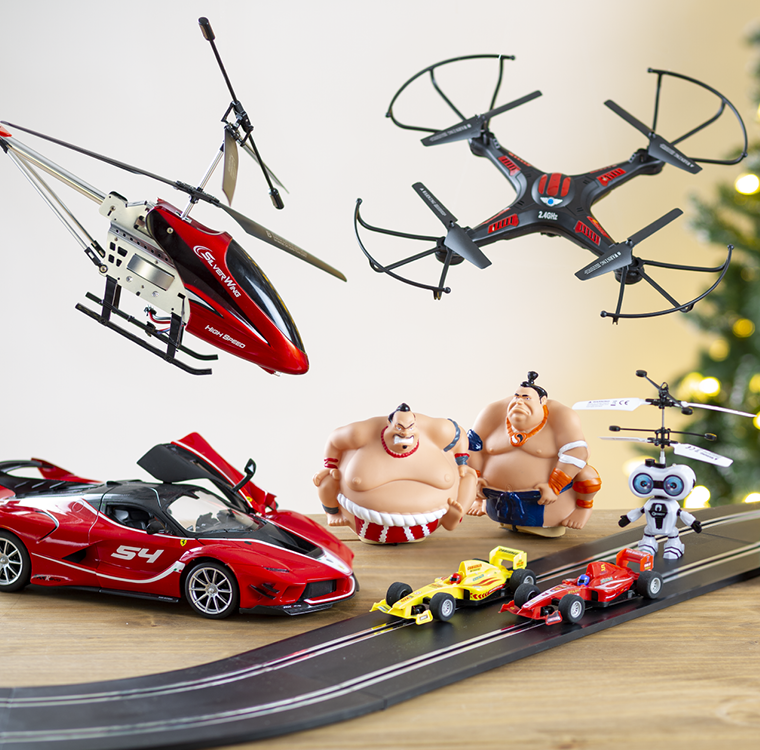 Remote Control Toys & Drones - Toys & Gifts