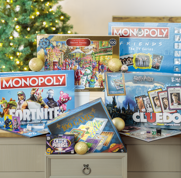 Indoor Play Gifts - Games Tables