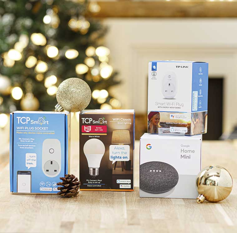 Gifts for the smarter home at Robert Dyas