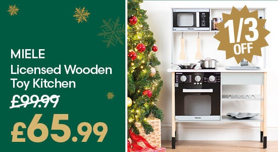 Gifts - Save on Miele Wooden Toy Kitchen