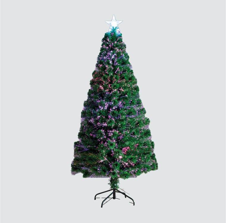 Christmas Shop - Fibre Optic Trees