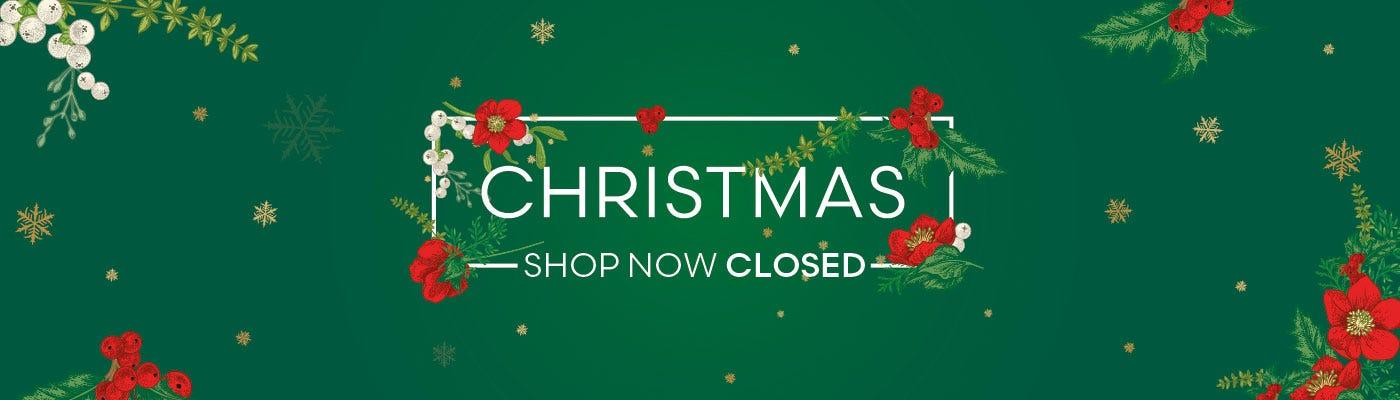 Christmas Shop Closed
