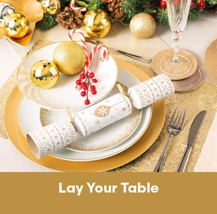 Christmas Shop - Lay your table