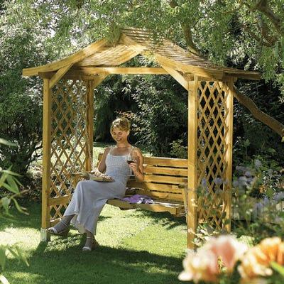 dartmouth garden arbour