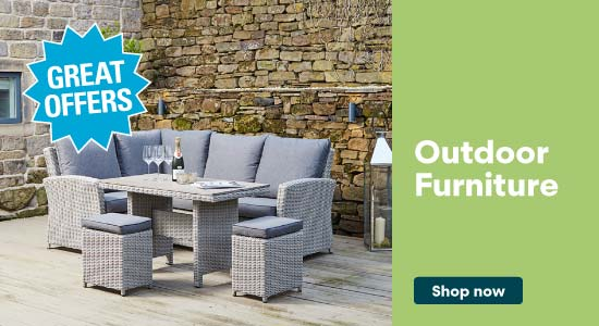 Shop our range of Outdoor Furniture
