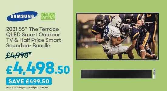 Save £499.50 on Samsung TV & Soundbar Bundle