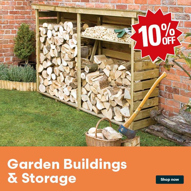 Shop garden buildings & storage