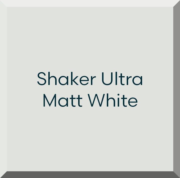 Shaker Ultra Matt White