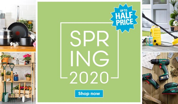Save up to half price on our spring deals!