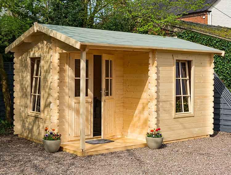 Garden Buildings - log cabin
