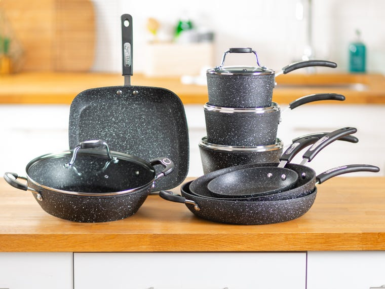 Kitchenware Mega Deals - Scoville Neverstick Pans