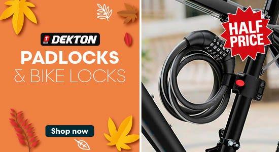 Get half price on Dekton locks