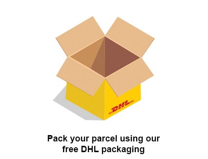 Pack your parcel using one of our free packaging