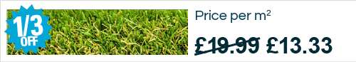 Kennington artificial grass saving