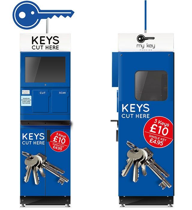 Key Cutting Machines at Robert Dyas