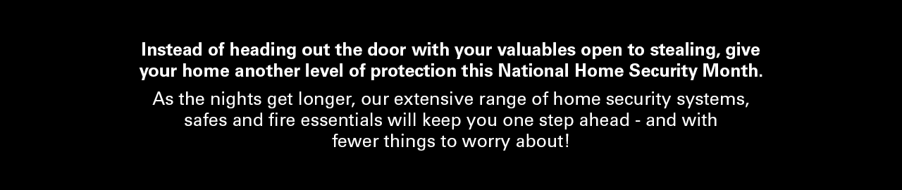 Give your home another level of protection