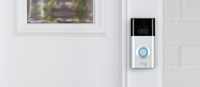 Ring smart security doorbell