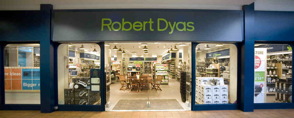 Robert Dyas Store Front Today