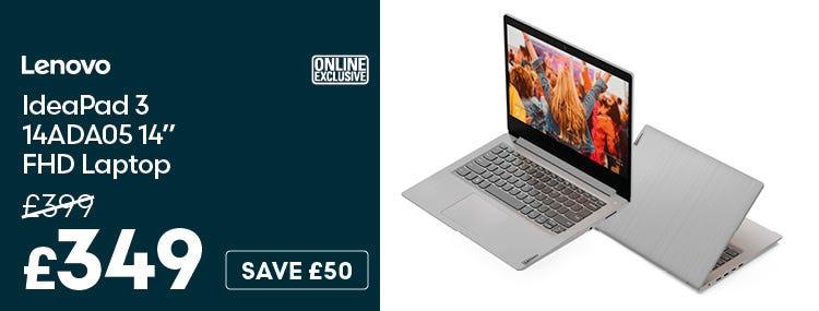 Lenovo IdeaPad 3 14ADA05 14 Inch FHD Laptop